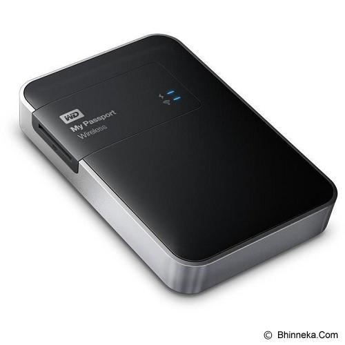 WD My Passport Wireless 1TB [WDBK8Z0010BBK-PESN] - Hard Disk External 2.5 Inch